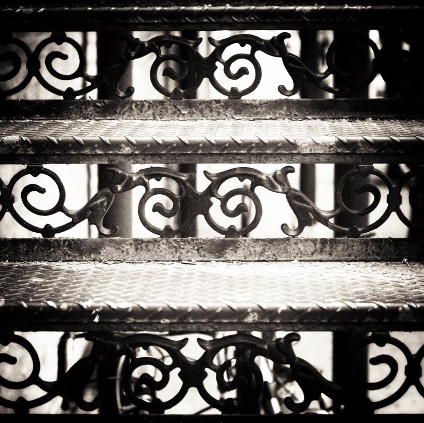Ironwork Steps
