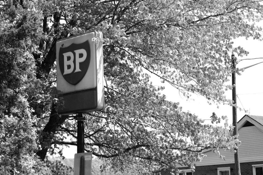 Vintage BP Sign