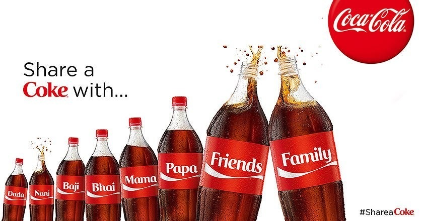 Share a coke ad